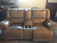 Tan electric recliner Lodi, 95240