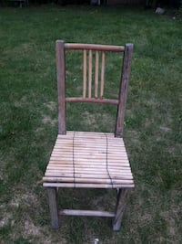 Bamboo wooden chair Toronto, M1W 2E7
