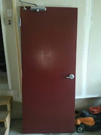 Steel fire door Waterloo, N2V 2T6