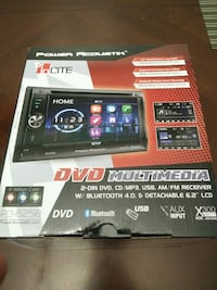 BNIB Power Acoustik PD-625B head unit Toronto, M3N 2K1