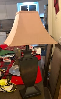 Contemporary brown and beige table lamp  539 km