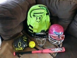 Girls T-Ball gear