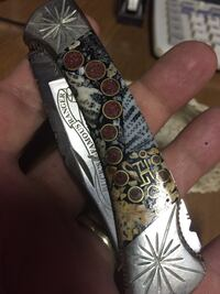 Rare Ghostown Customs Buck 112 Knife
