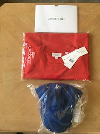 two red and blue polo shirts Laurel, 20724