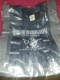 black True Religion shirt