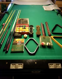 Pool Table & all the goodies to go with it!!!