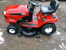 Craftsman dyt 3000 riding lawn mower in excellent condition