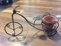 Brand New Mini Metal Iron Bicycle Plant Stands Flower Pot Holder New Westminster