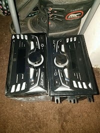 Two perfect condition radios.