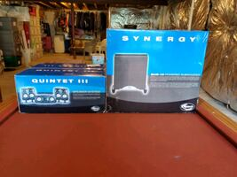 Quintet iii speakers + subwoofer