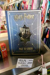 Harry Potter page-to-screen book