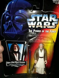 VINTAGE STAR WARS BEN KENOBI FIGURE  Johnston, 02919