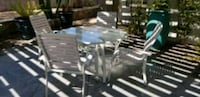 Outdoor table set and 4 chairs Las Vegas