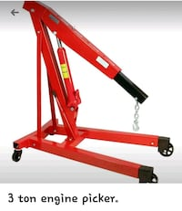 3 ton engine picker