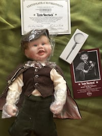 Little Sherlock Born to be Famous by Ashton Drake  Mount Airy, 21771