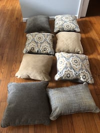 gray and white throw pillows Lavallette, 08738