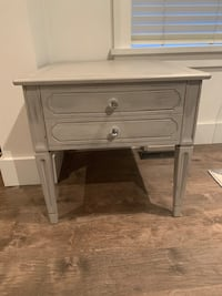 Shabby Chic end table/nightstand
