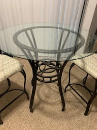Glass Pub Table w/ Chairs (2) Irving, 75039