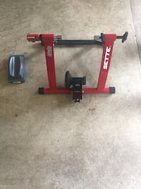 Red and black Sette bike trainer Franklin Lakes, 07417