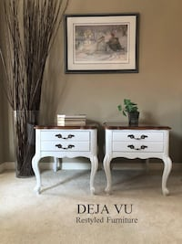 French Provincial Side Tables / Bedside Tables Toronto