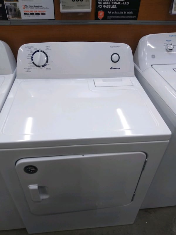 Amana gas dryer large capacity works good 30 day warranty  (Phone number hidden by letgo)  7a8096ad-bdc7-4798-bd40-47c00e0ca243