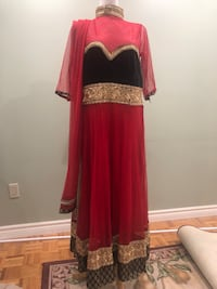 Red indian Suit anarkali