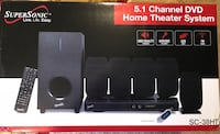 Supersonic Home Theatre System 34 km