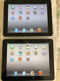 2 IPads 1st Generation Good Condition see pictures Carol Stream, 60188