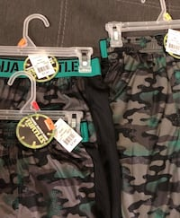 Ninja turtles shorts sizes 4-5,6-7, & 8 Fresno, 93727