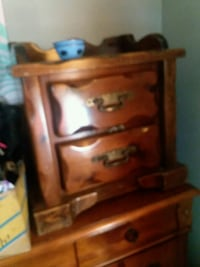 brown wooden 3-drawer chest South Portland, 04106