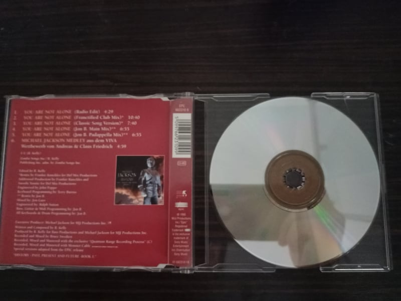 Michael Jackson You Are Not Alone 1995 nadir CD 2ef48a66-9a0c-43c4-9bf0-062c1ea90adc