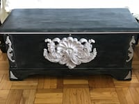 charcoal grey and pale lavender lane cedar chest New York, 10463