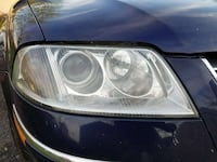 VW Passat headlamps - clear and no hazing!