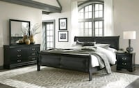 Bedroom set black brand new free shipping  Hyattsville, 20781