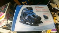 Ice skates brand new never used size 12 to 2 kids  Toronto, M6G 3B1