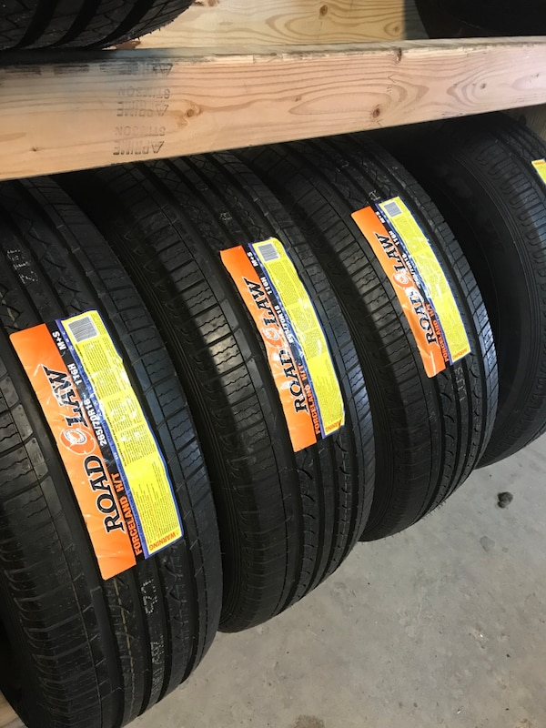 265/70/r18 brand new for $124 each never been mounted  We have low prices and high quality tires  Call or ask for any size you needed