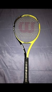 yellow and black Wilson tennis racket Annandale, 22003