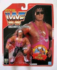 Bret Hart rare red card figure New York, 10036