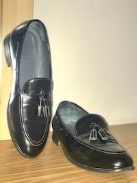 Leather Oxford Loafer Men's Shoes Fits 9 - 9.5 (Great Condition)
