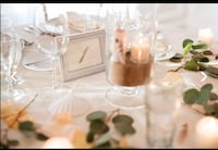 Wedding centerpieces - beach theme