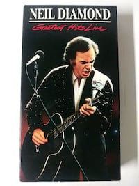 Neil Diamond Greatest Hits Live vhs  Baltimore