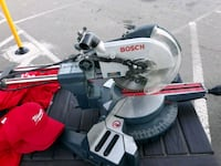 gray and red Bosch miter saw Raleigh, 27609