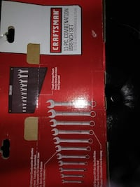 Brand new craftsman 11 piece wrench set