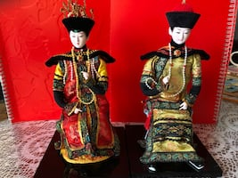 Chinese Dolls King & Queen