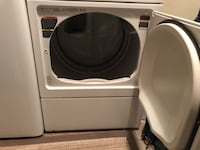 White front-load clothes washer Vista, 92083