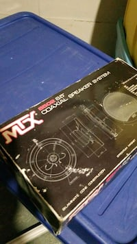 Mtx 6.5 coaxial car speakers brand new