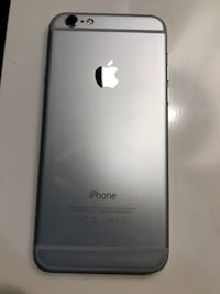 silver iPhone 6 with black case 559 km