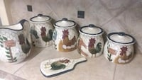 Beautiful ceramic canisters Terry, 39170