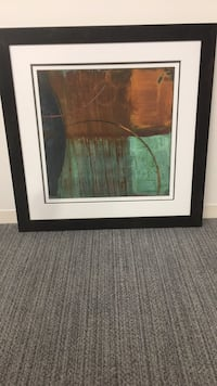 brown wooden framed painting of trees Washington, 20016