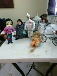 four assorted dolls with dresses McAllen, 78501